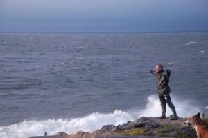 Svamp och storm Bergudden 389